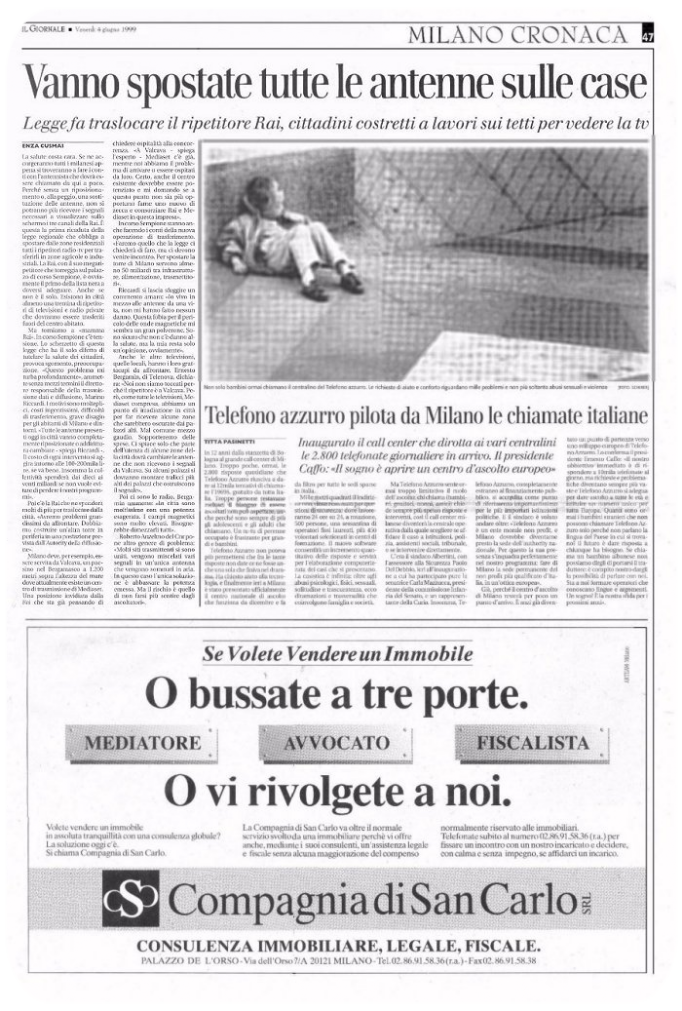 Protel Press Il Giornale Magazine  06-1999